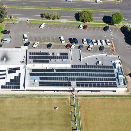SunPeople dapto citizens bowling club 99kW solar installation