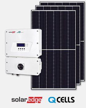 SolarEdge Inverter Q Cells Solar Panel