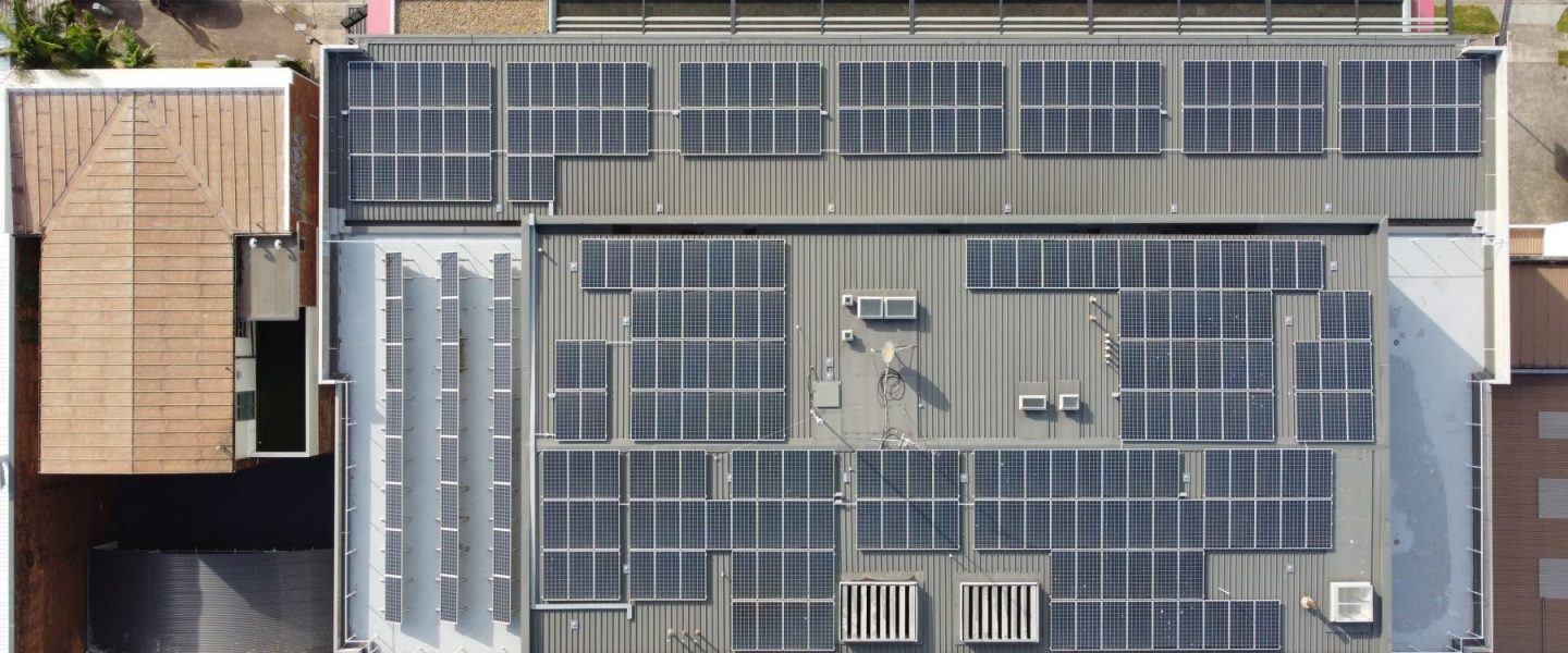 SunPeople Keira St Commercial 99kW solar install
