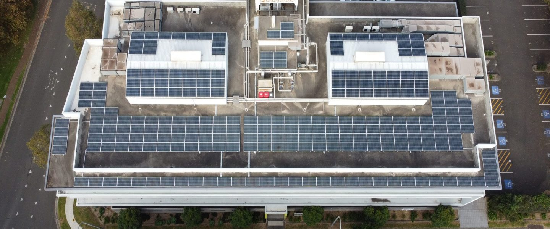 SunPeople Bridge St Commercial solar install